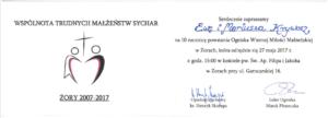 Sychar _zaproszenie_MariuszEwa